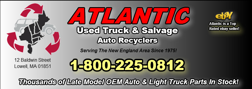 atlantic used auto and truck parts lowell ma